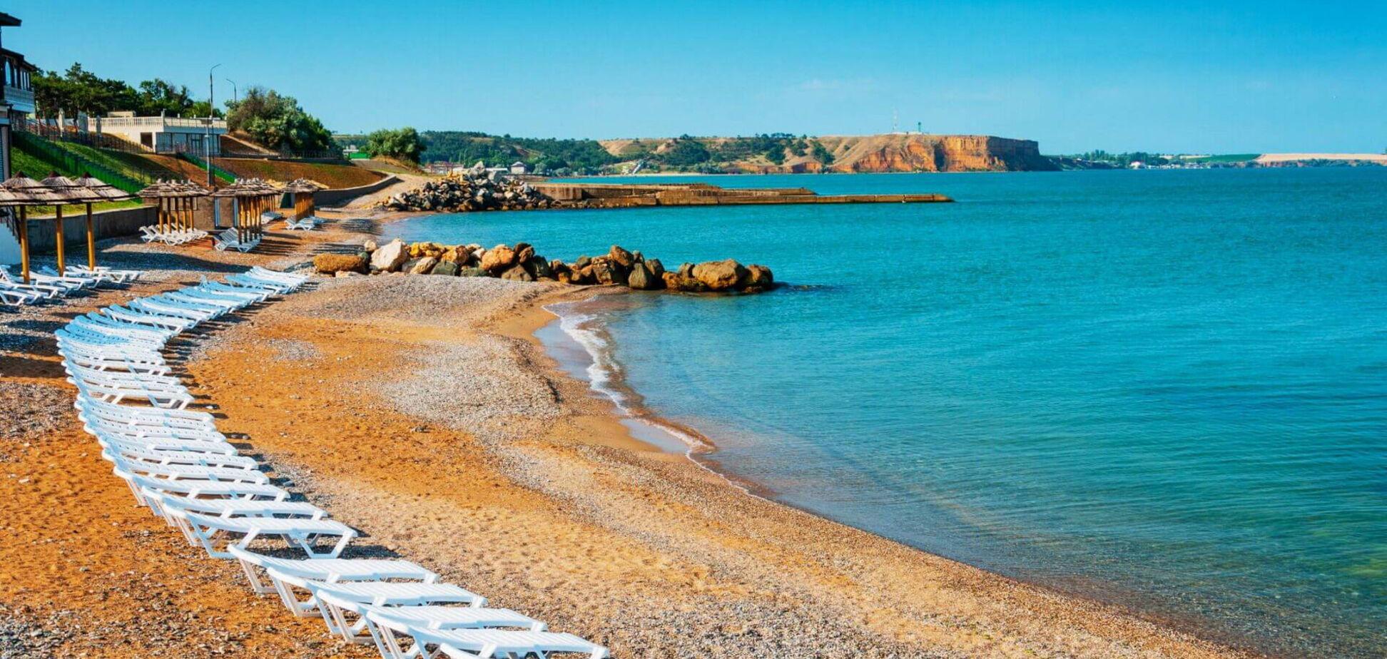 Пляж в Криму
