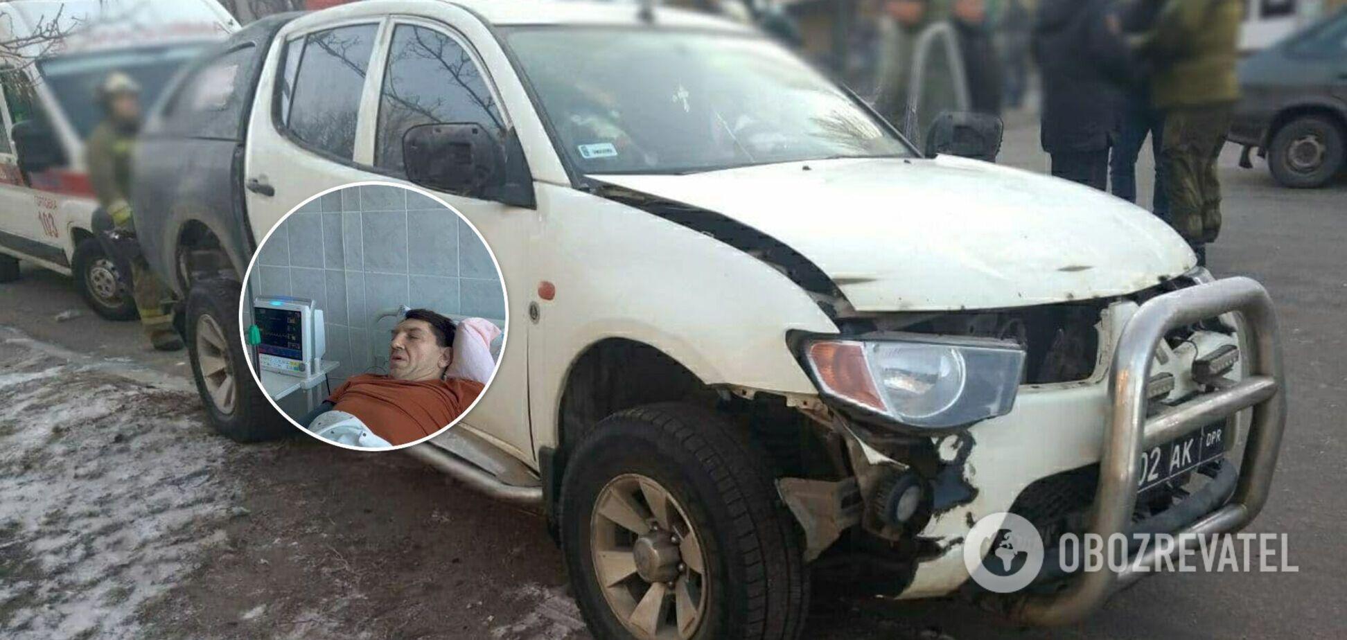 Появилось фото из больницы одного из главарей 'ДНР', которого подорвали в авто