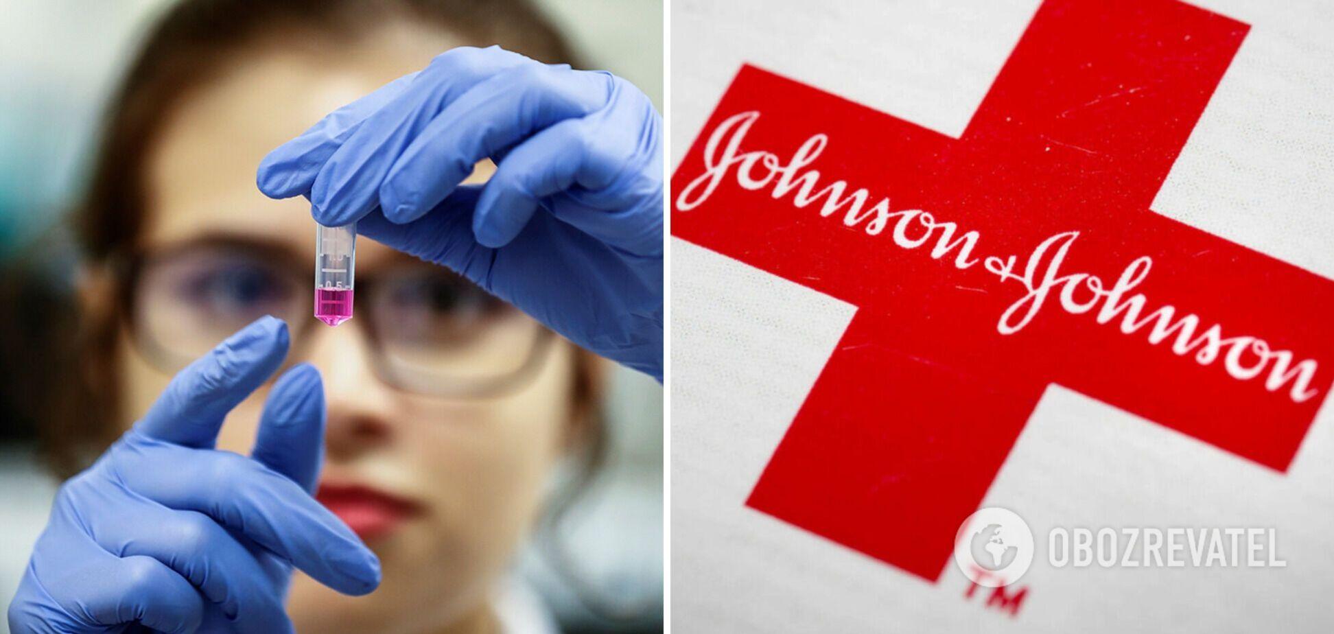Вакцина Johnson & Johnson