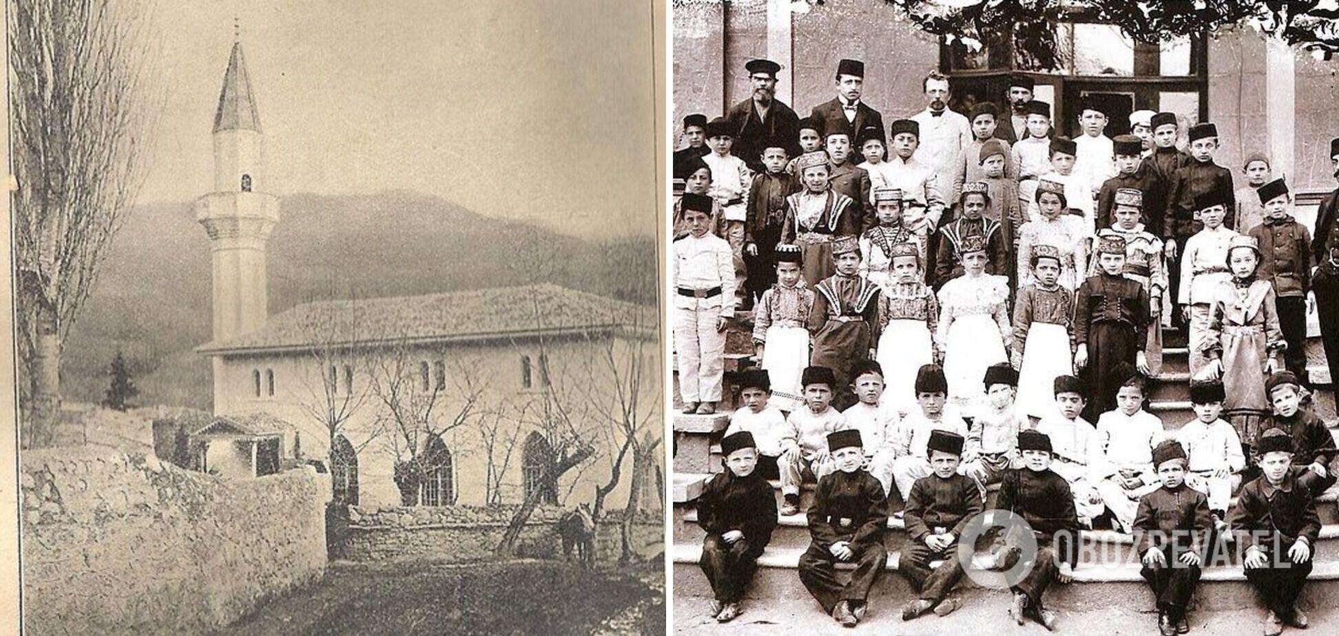 Після депортації кримських татар 1944 року до Дерекоя переселили колгоспників з Росії