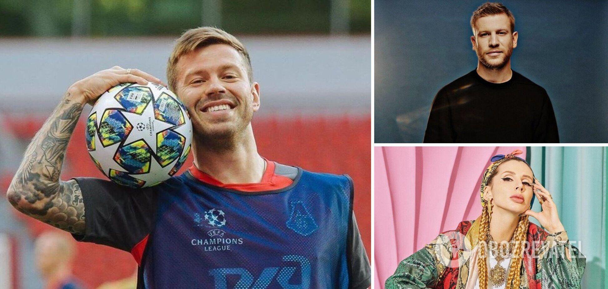 Дорн и Лобода выступили на дне рождения российского футболиста Смолова. Фото и видео