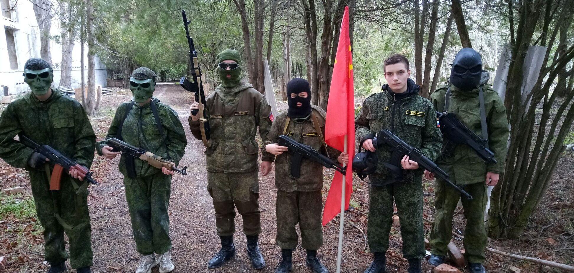 Новости Крымнаша. Дети в Крыму с пеленок познают, что такое 'русский мир'