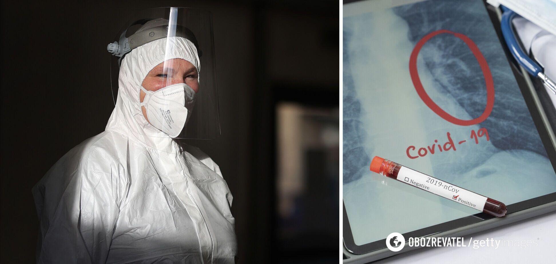 В Україні за два тижні на COVID-19 захворіли понад 3000 медиків