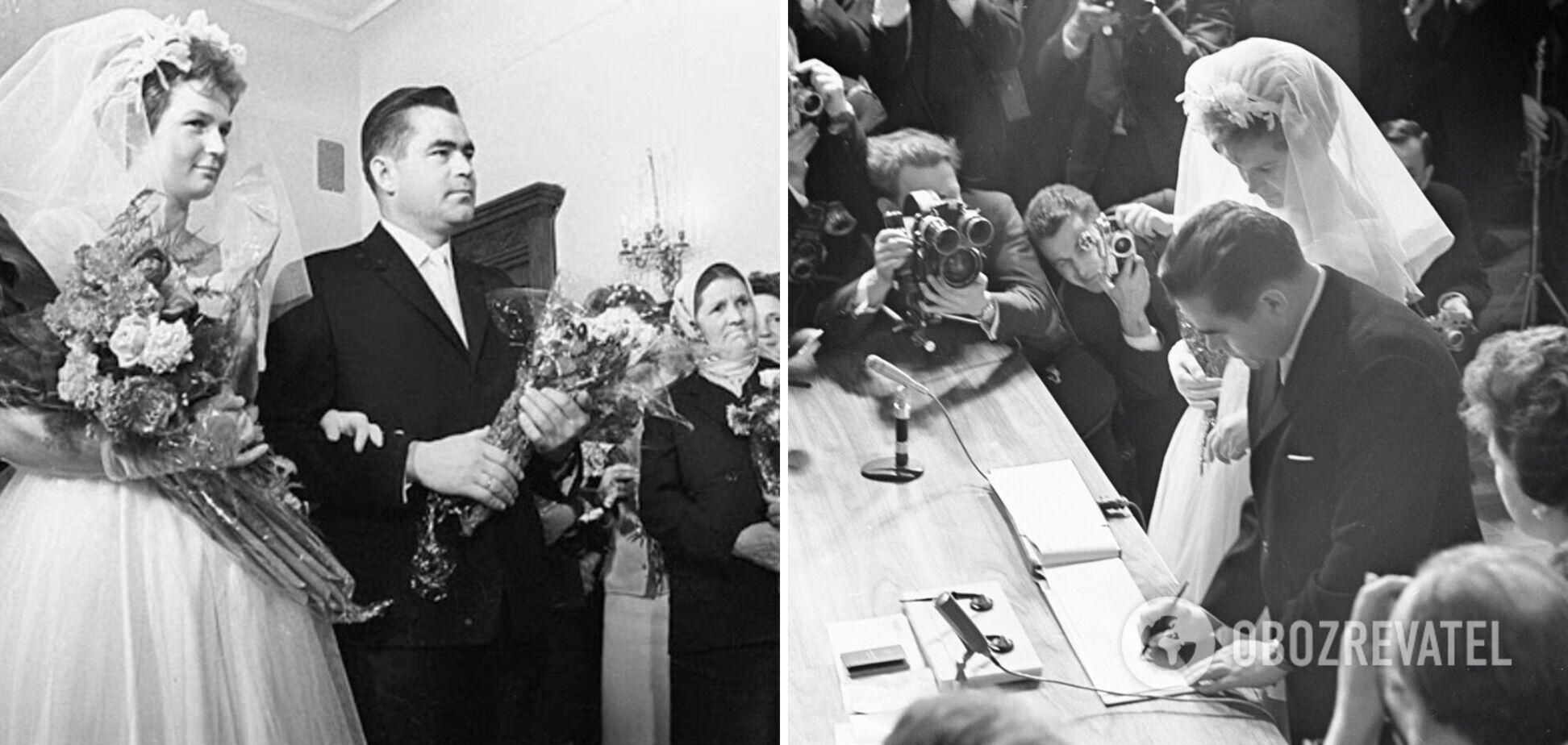 Весілля космонавтів Терешкової та Ніколаєва