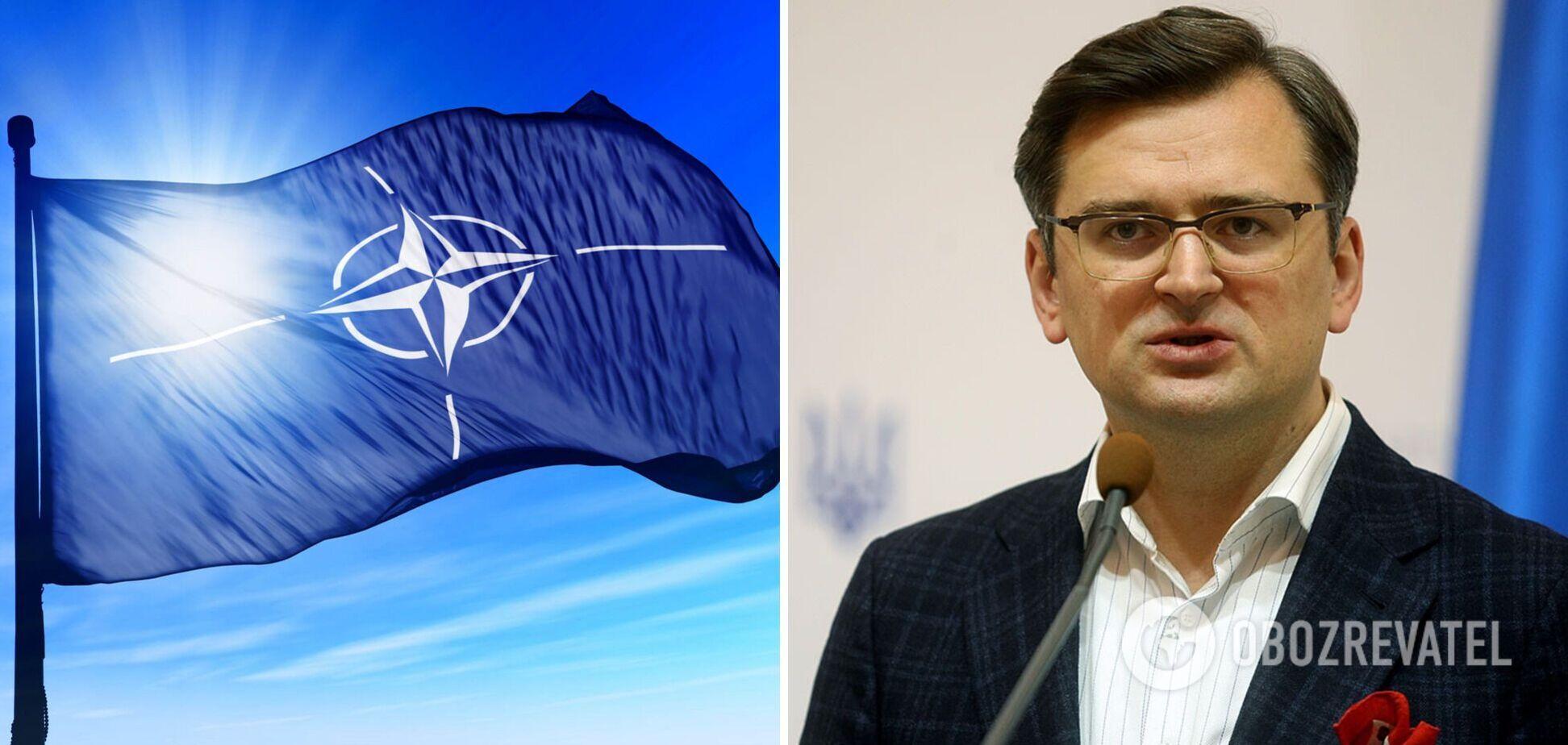 Кулеба пояснив, чому Україна досі не в НАТО