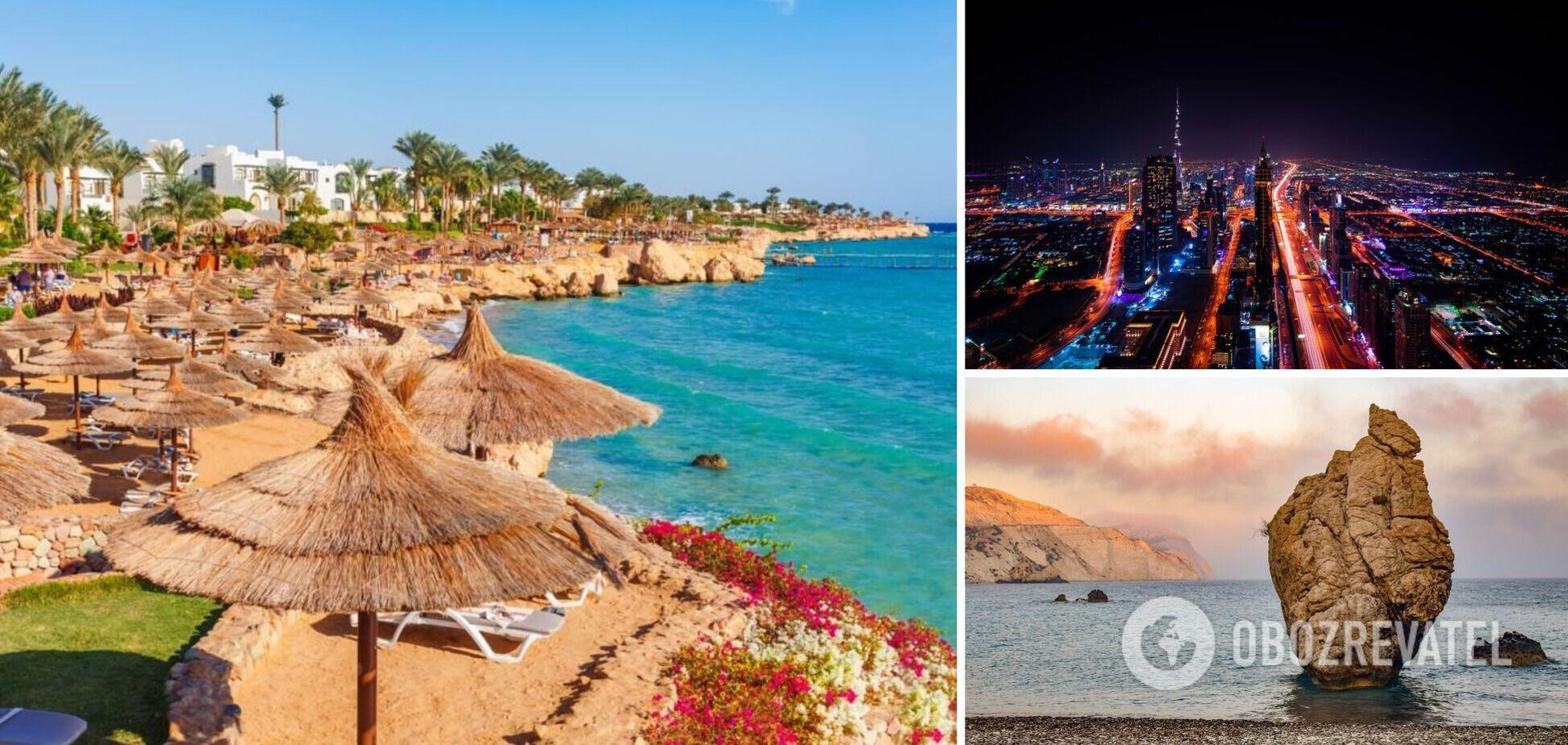 Єгипет, Чехія та ОАЕ готуються до туристичного сезону
