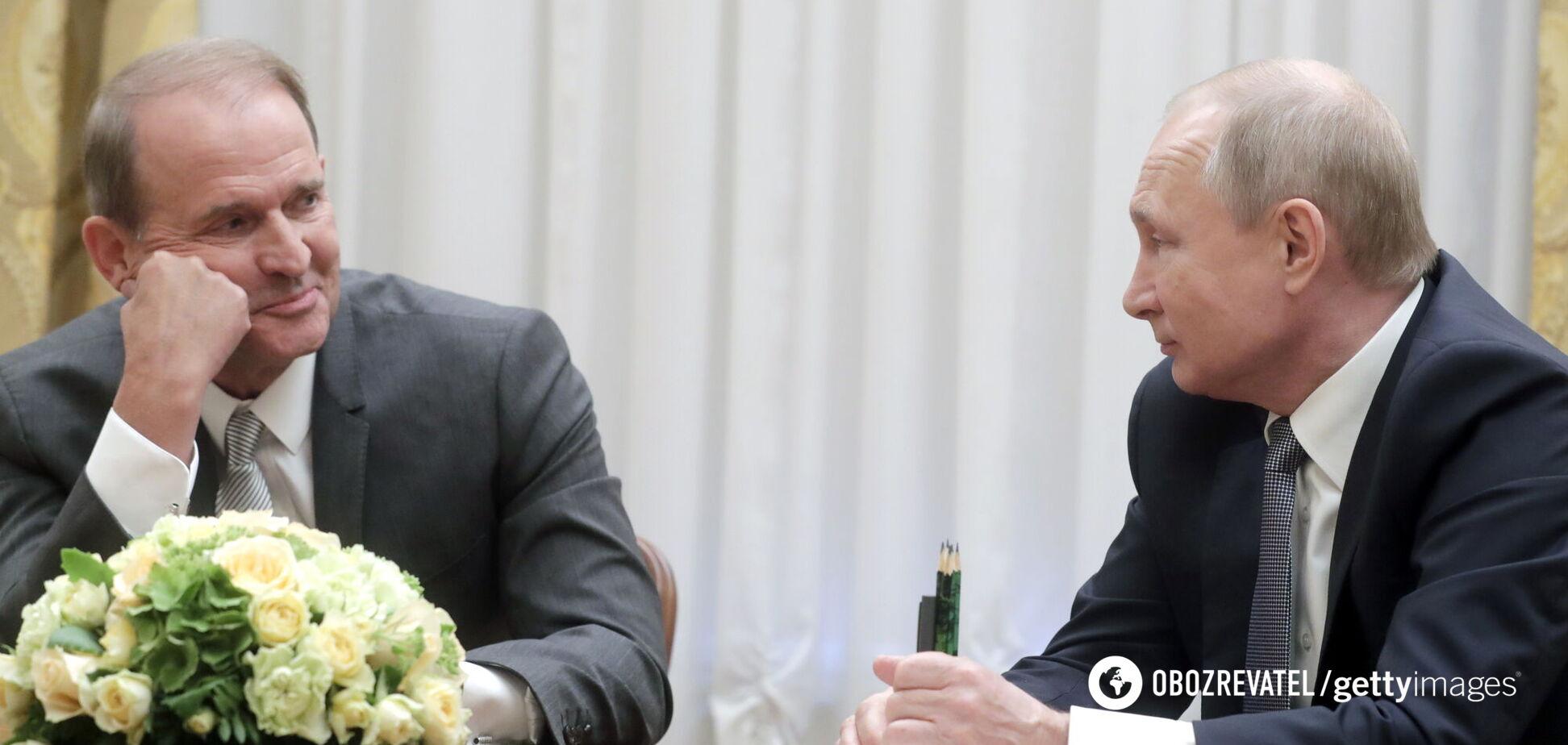 Путин впервые прокомментировал закрытие каналов Медведчука