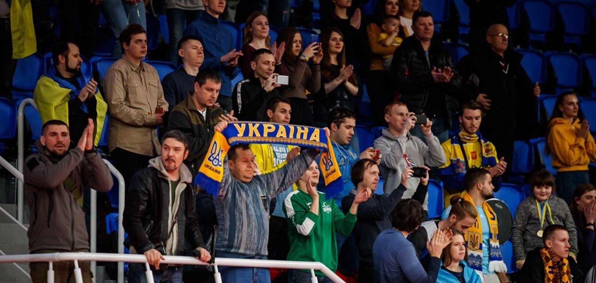 Болельщики Динамо Киев