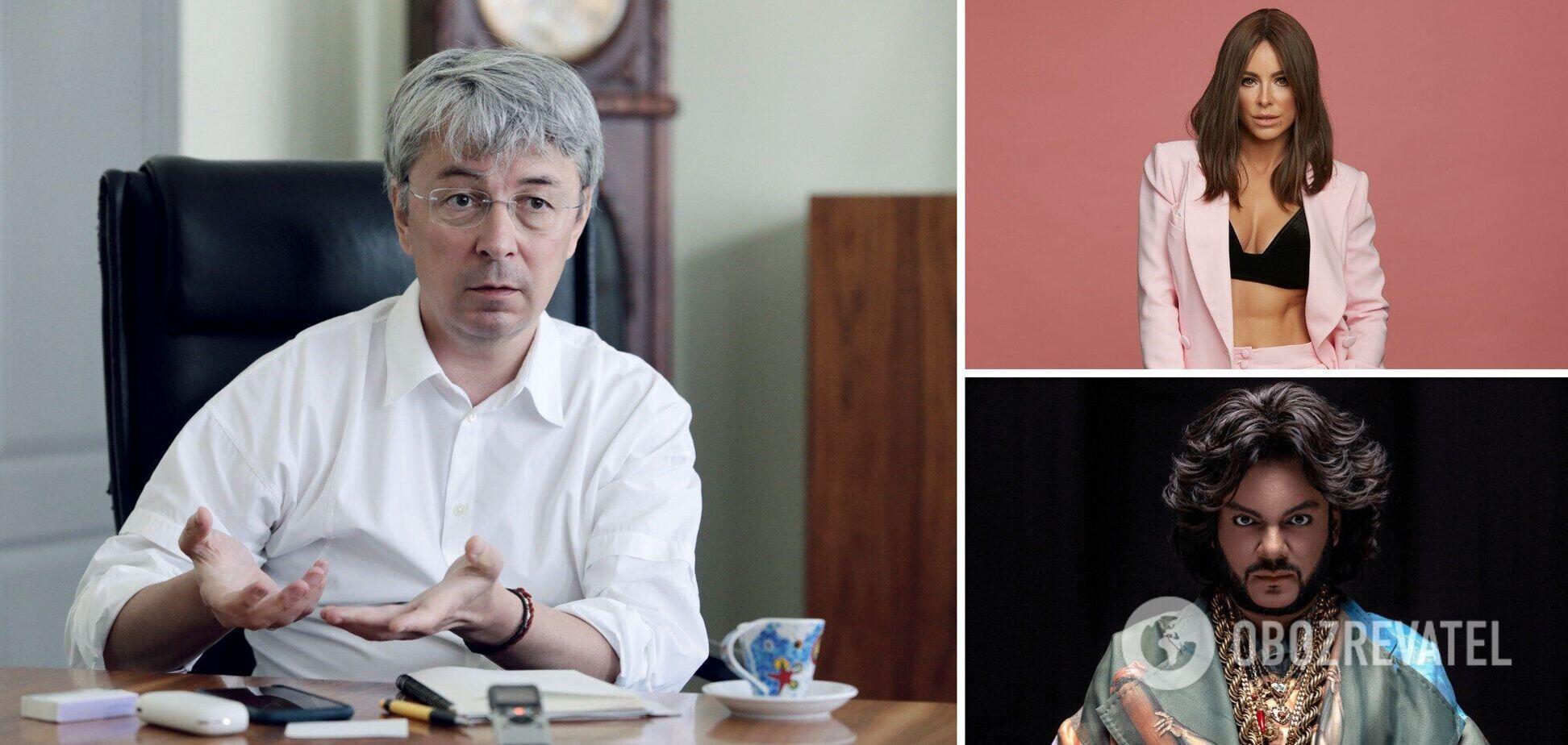 Ткаченко предложил лишить Лорак и Киркорова звания народного артиста Украины