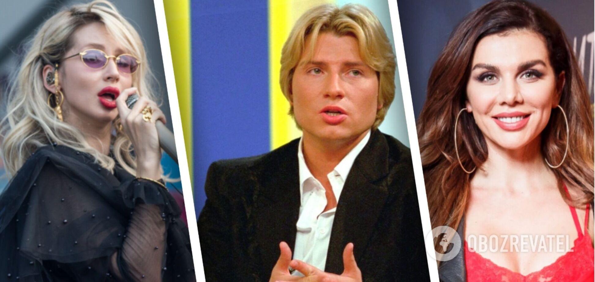 Лобода, Басков, Седокова