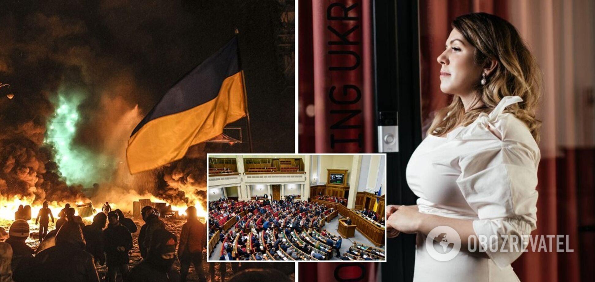 Рада приняла инициированное 'Голосом' заявление о Революции Достоинства