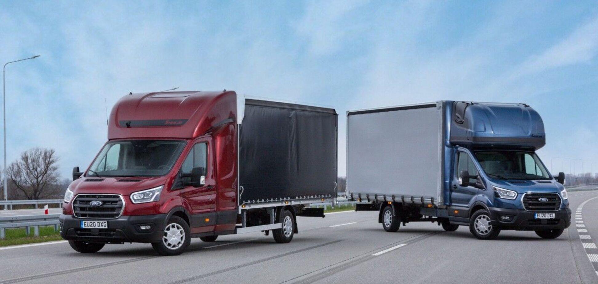 Ford презентувала новий Transit для міжнародних перевезень