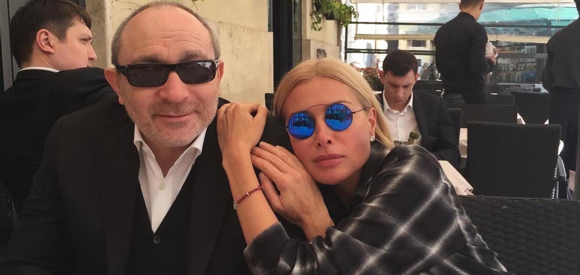 Геннадий Кернес и Оксана Гайсинская