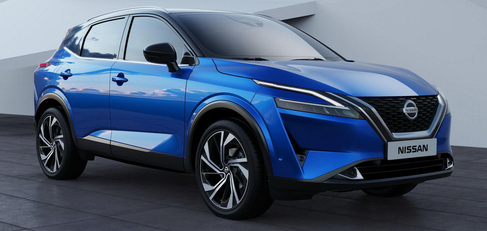 Nissan Qashqai дебютировал в новом поколении