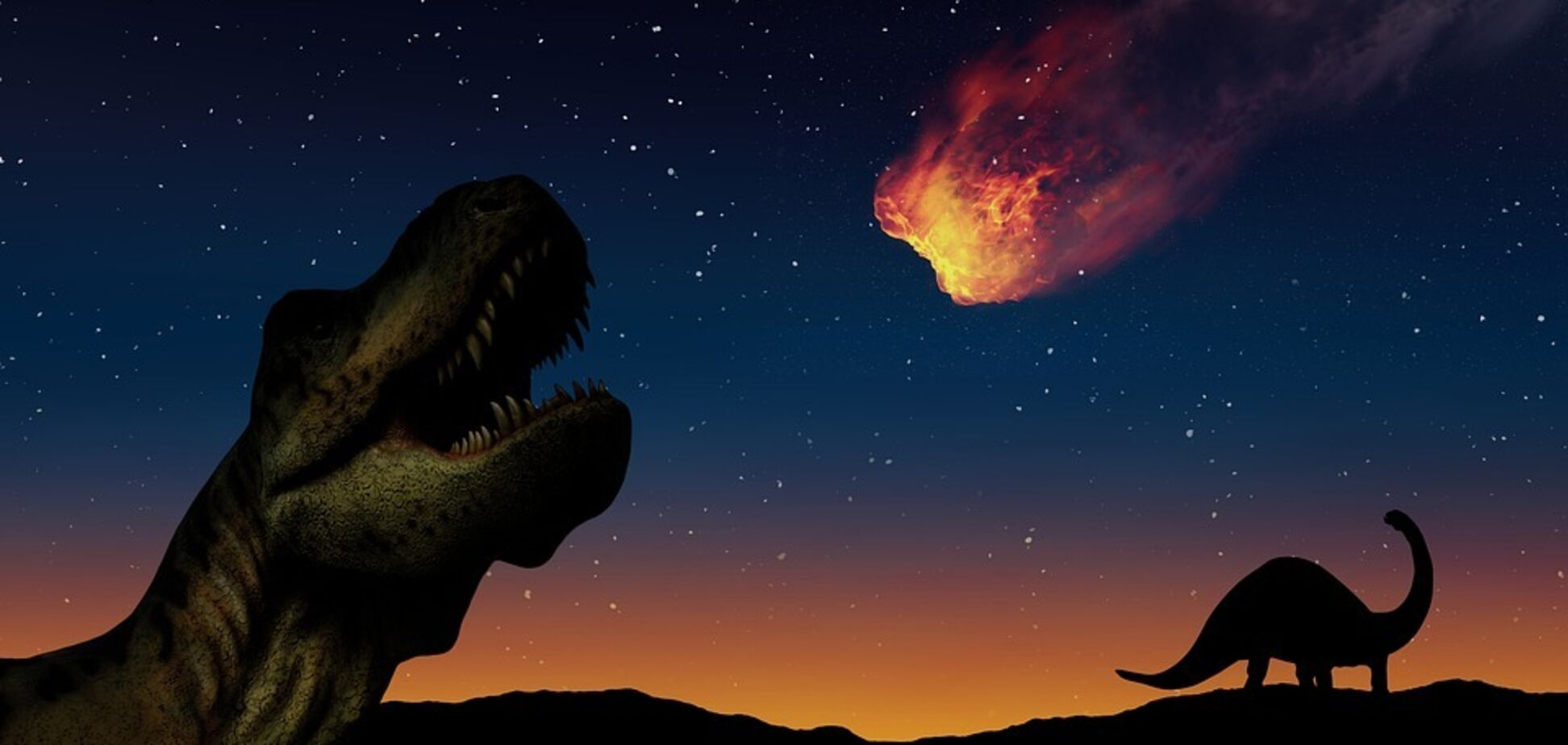Зникнення динозаврів могла викликати комета, а не астероїд
