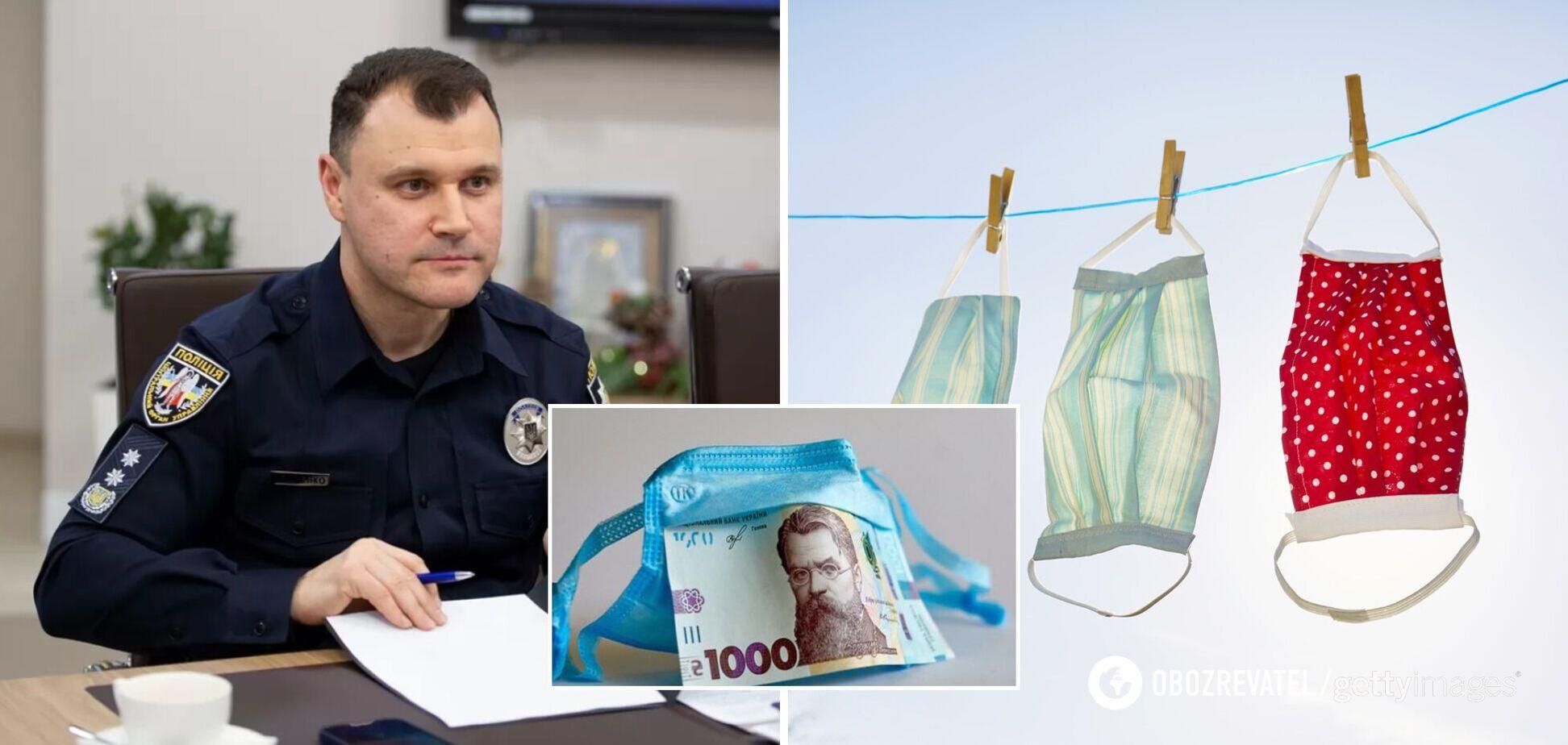 В Украине за несколько дней выписали более 500 штрафов за нарушение карантина