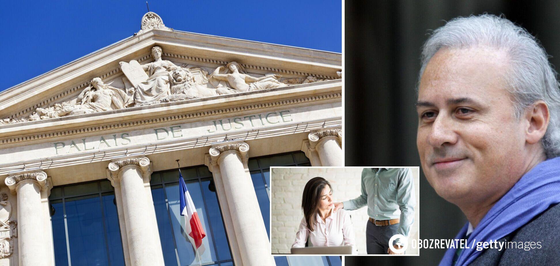 Во Франции экс-министра приговорили к тюрьме за сексуальные домогательства к подчиненным