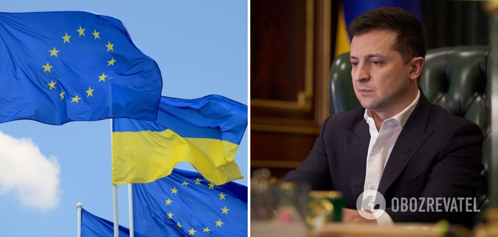 Зеленський: членство України в ЄС перестало бути гіпотетичним, питання має вирішитися до 2030 року