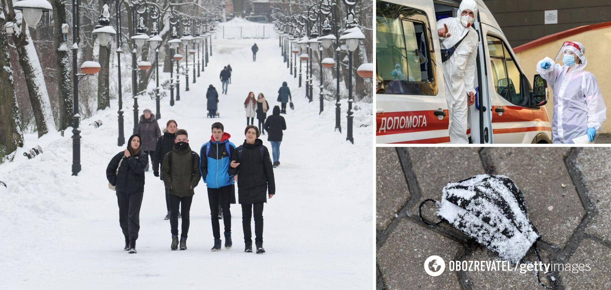 Хворі на коронавірус в Україні