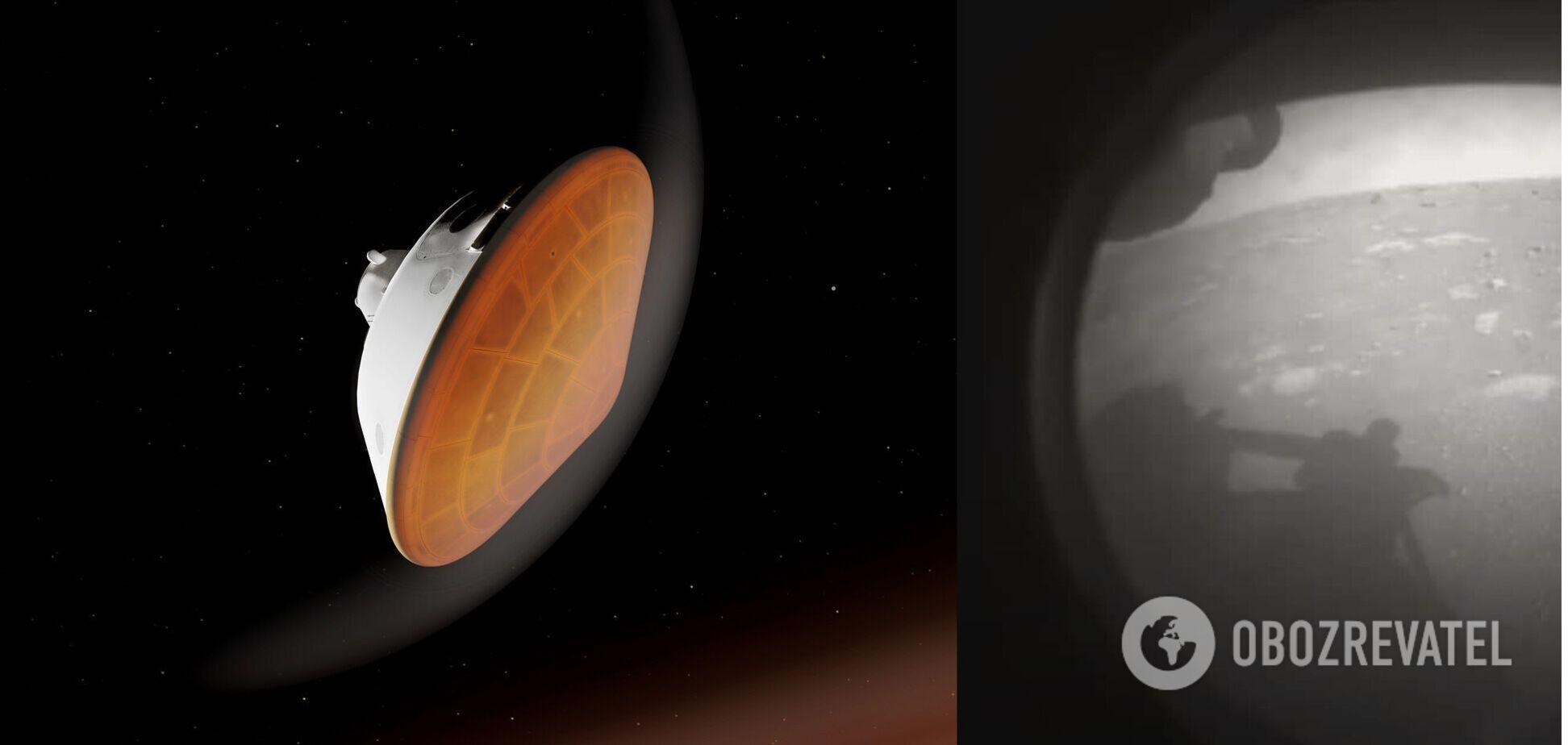 Perseverance передал первые фото Марса