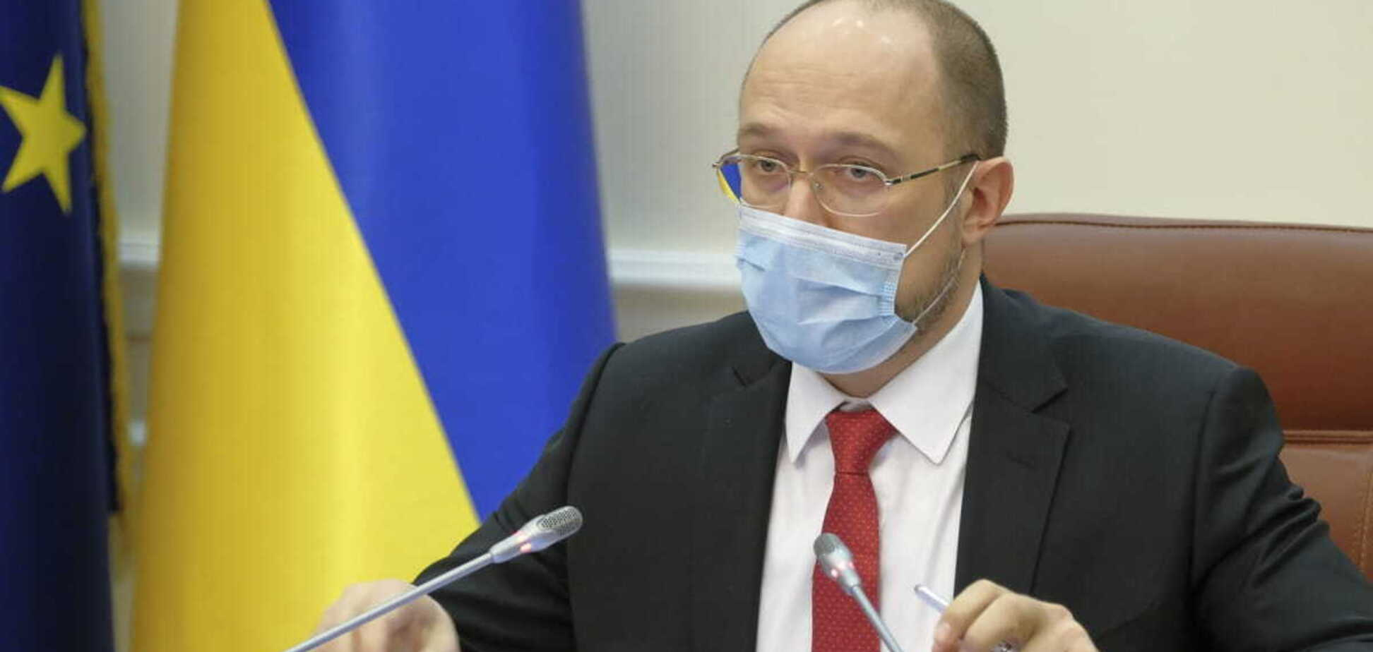 Україна має контрактів на понад 30 мільйонів доз вакцини, повідомив Денис Шмигаль