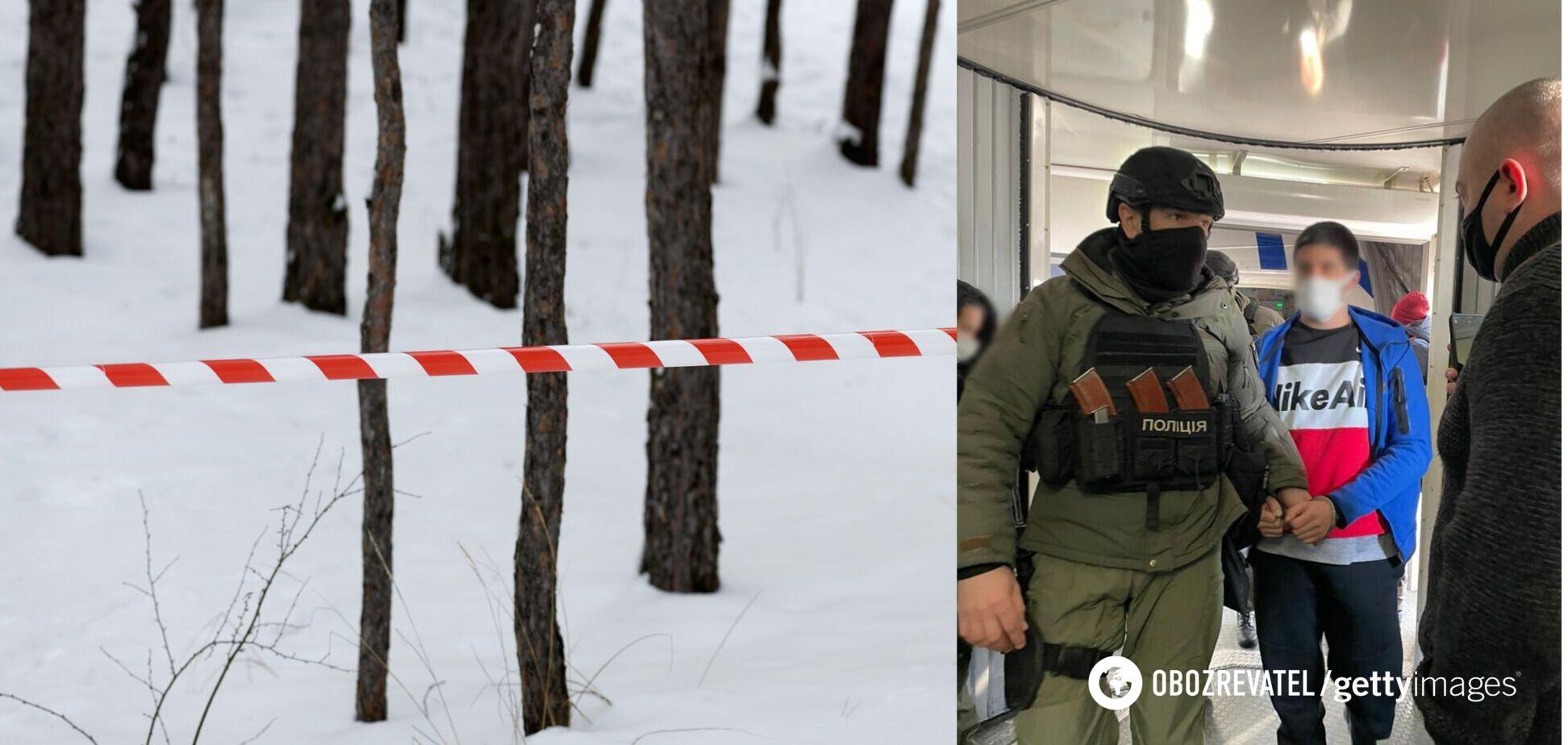 Убийство в Гидропарке Киева: полиция задержала злоумышленника, бежавшего в Турцию. Фото
