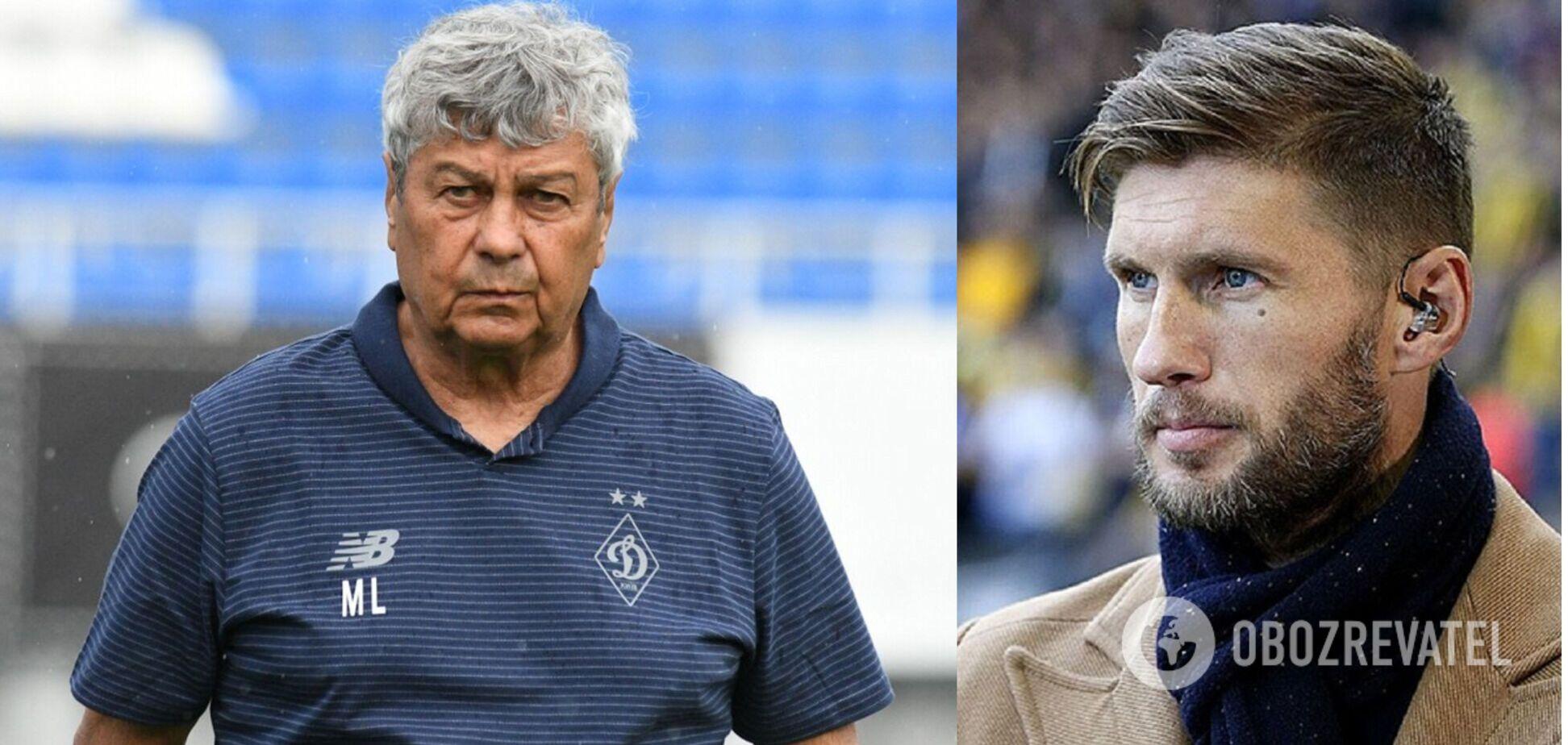 Мірча Луческу та Євген Левченко