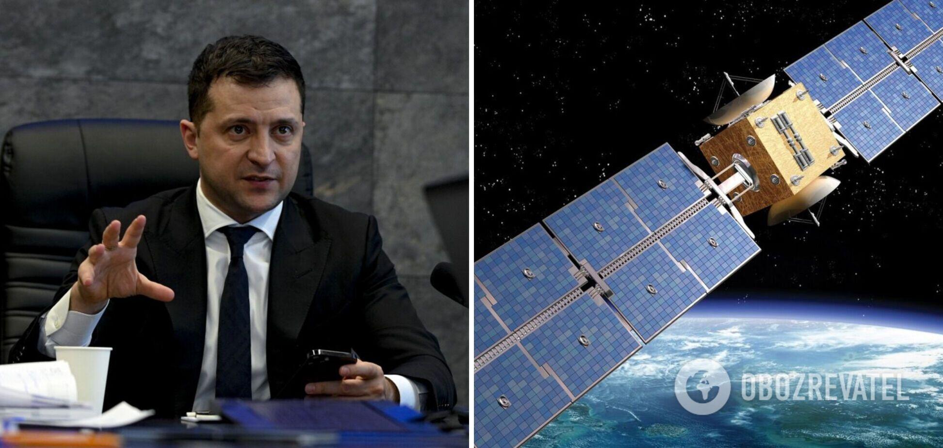 Украина построит и запустит собственный спутник: Зеленский назвал сроки