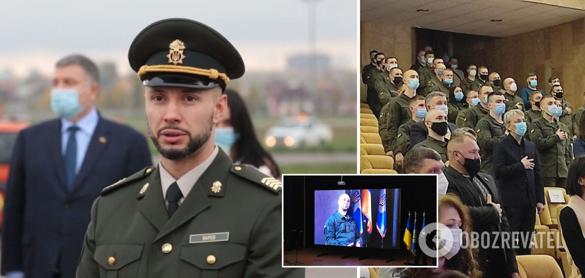 В Киеве прошел показ фильма о жизни и борьбе за правду Виталия Маркива