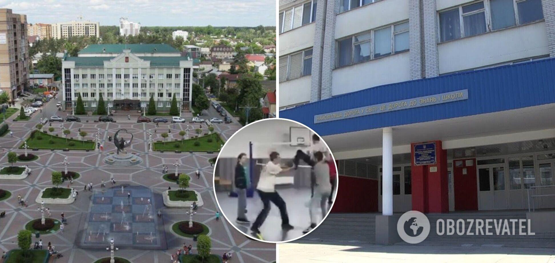 На Киевщине над школьником поиздевались на глазах учителя: ребенка уронили головой о пол. Видео