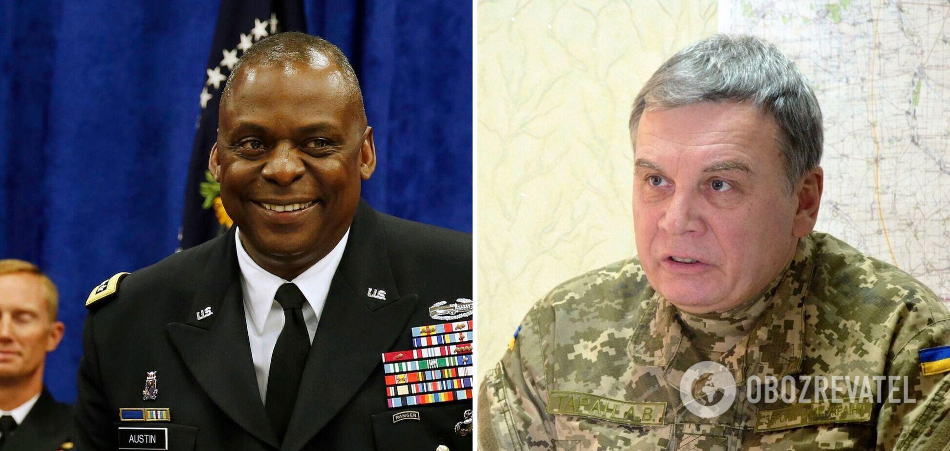 Украина будет участвовать в операциях НАТО: Таран впервые провел переговоры с главой Пентагона