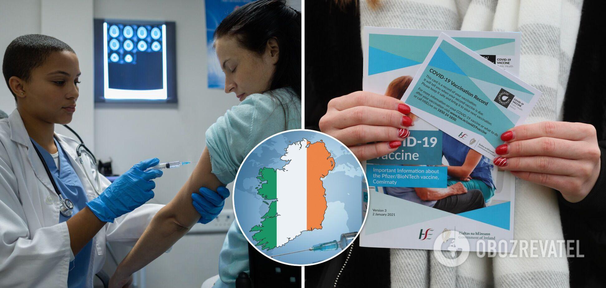 Вакцина бесплатная, прививки делают охотно: украинка рассказала, как в Ирландии спасаются от COVID-19