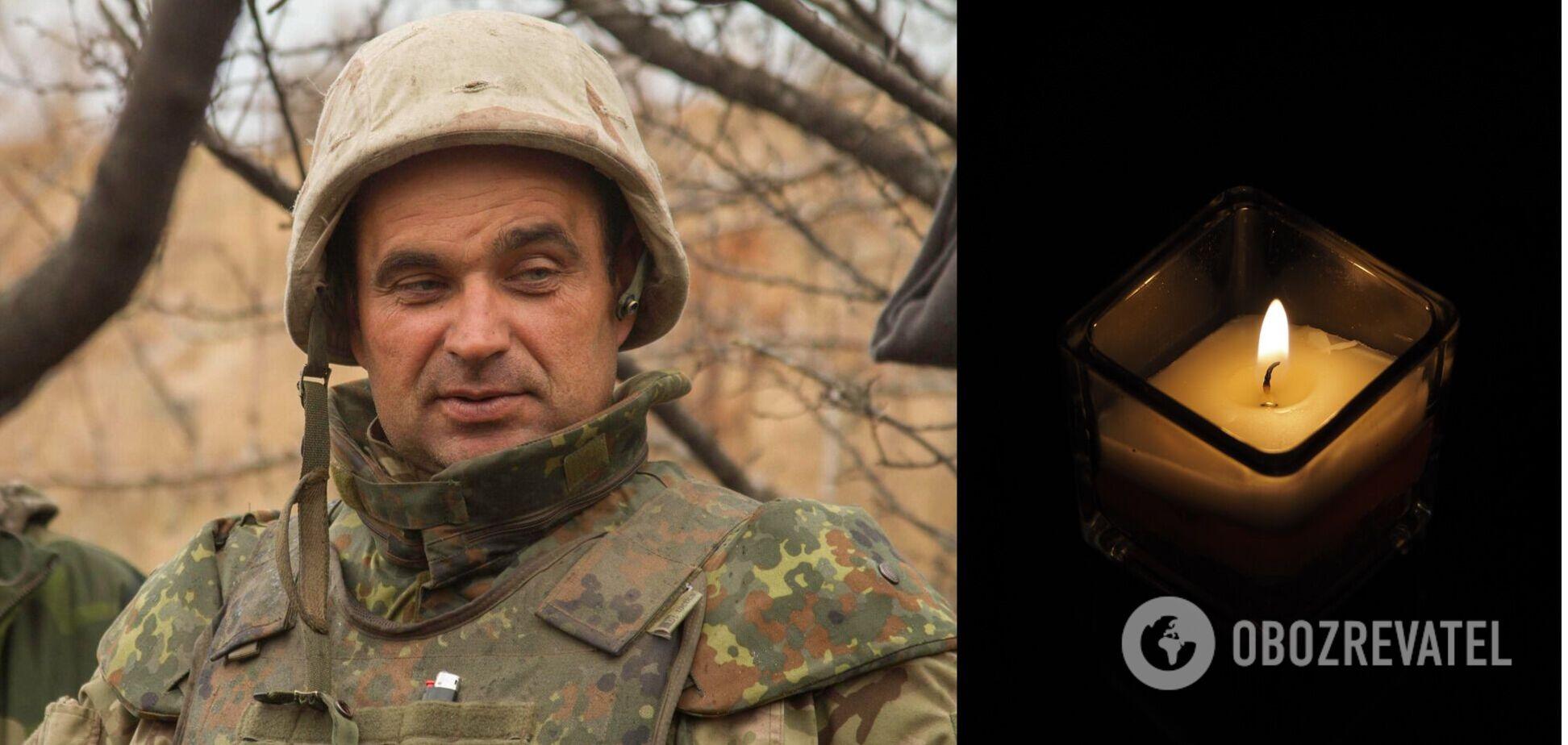 Умер экс-комбат танкового батальона ВСУ. Фото