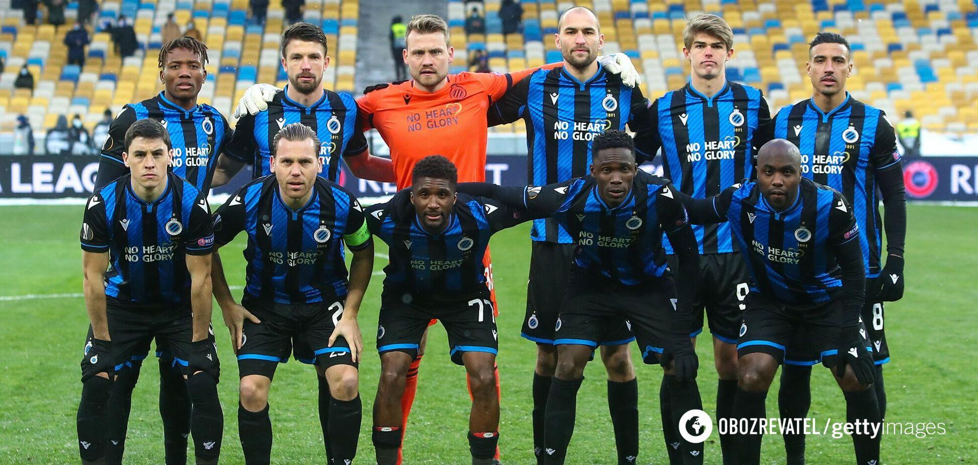 'Брюгге' перед матчем з 'Динамо'