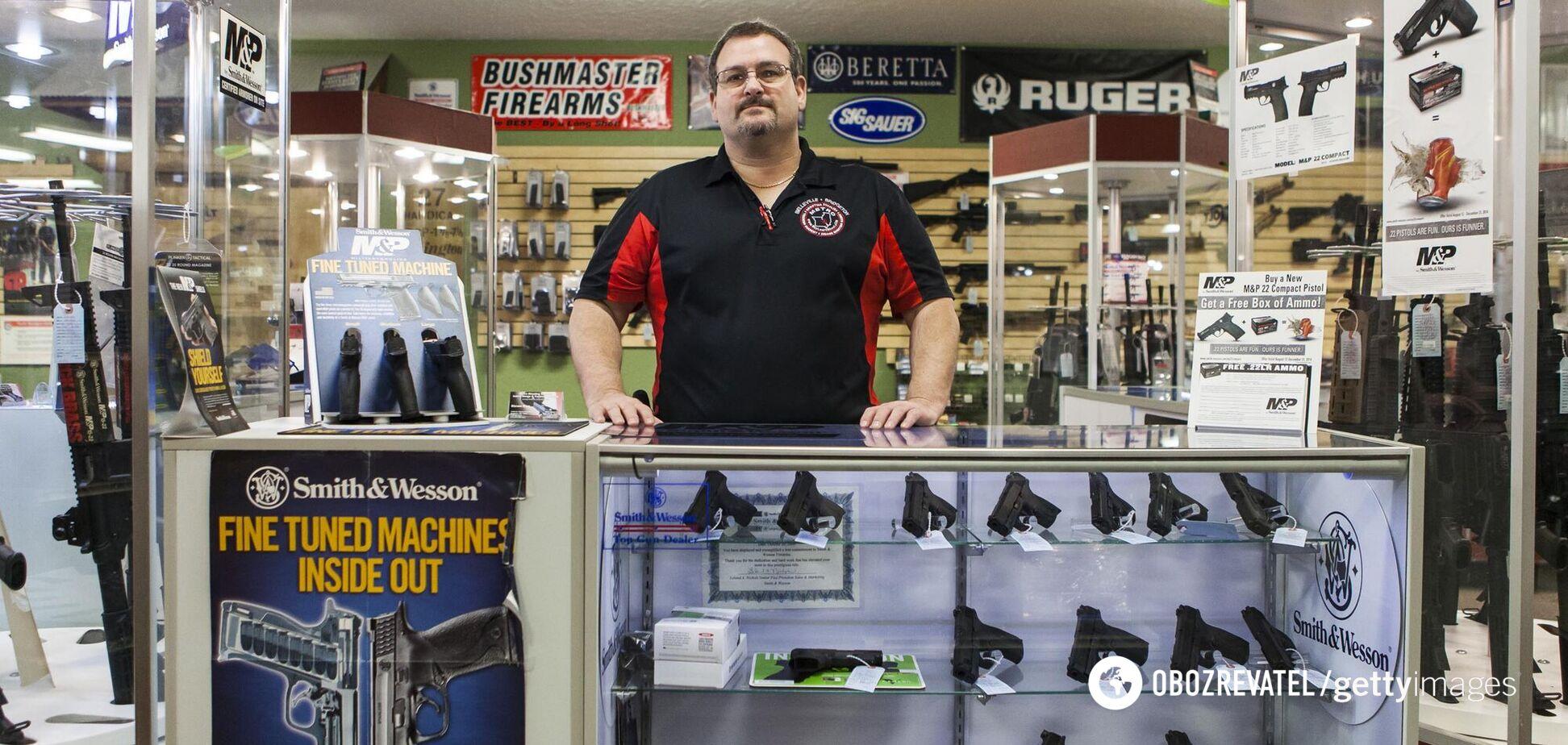 Оружие в Украине можно будет купить просто: в МВД озвучили детали