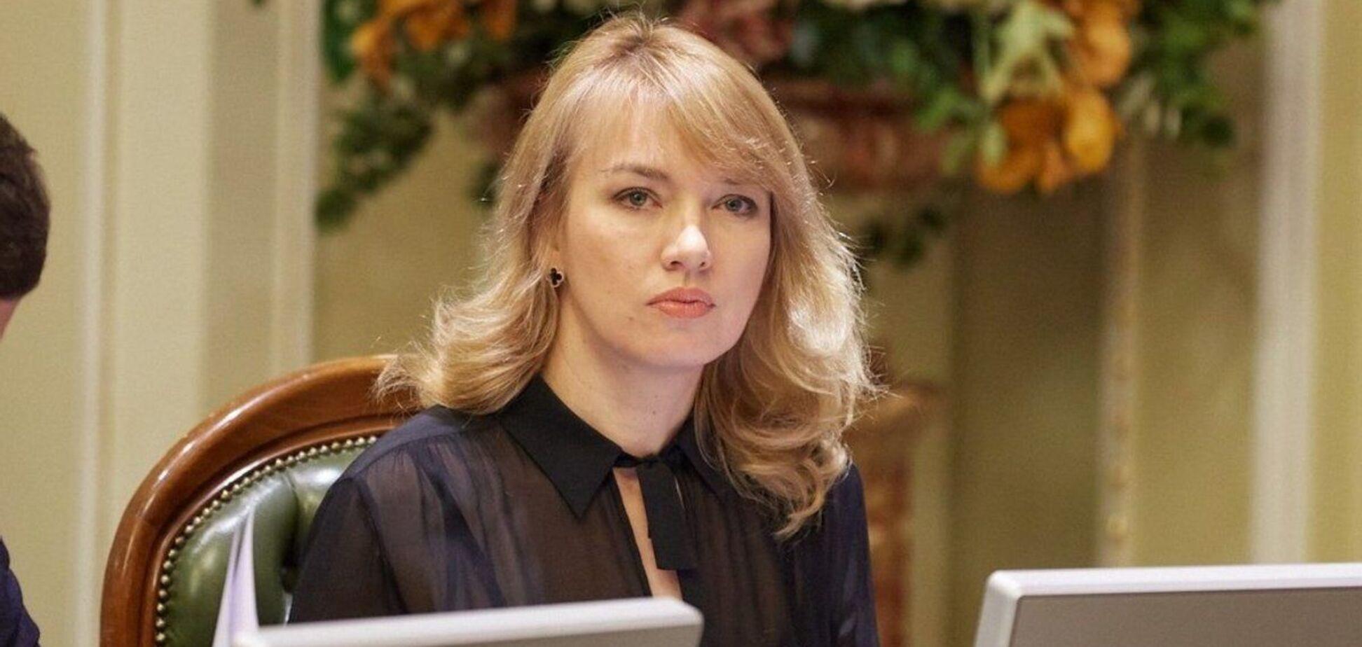 Народний депутат від 'Слуги народу' Олена Шуляк