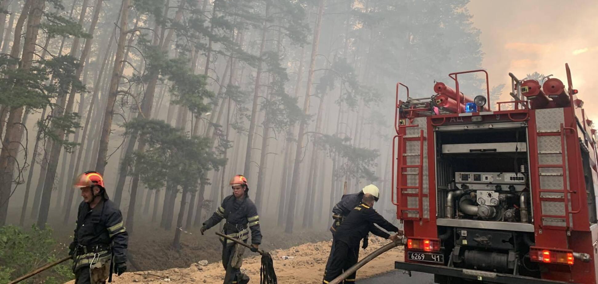 Главу администрации Луганщины заподозрили в служебной халатности по делу о пожарах