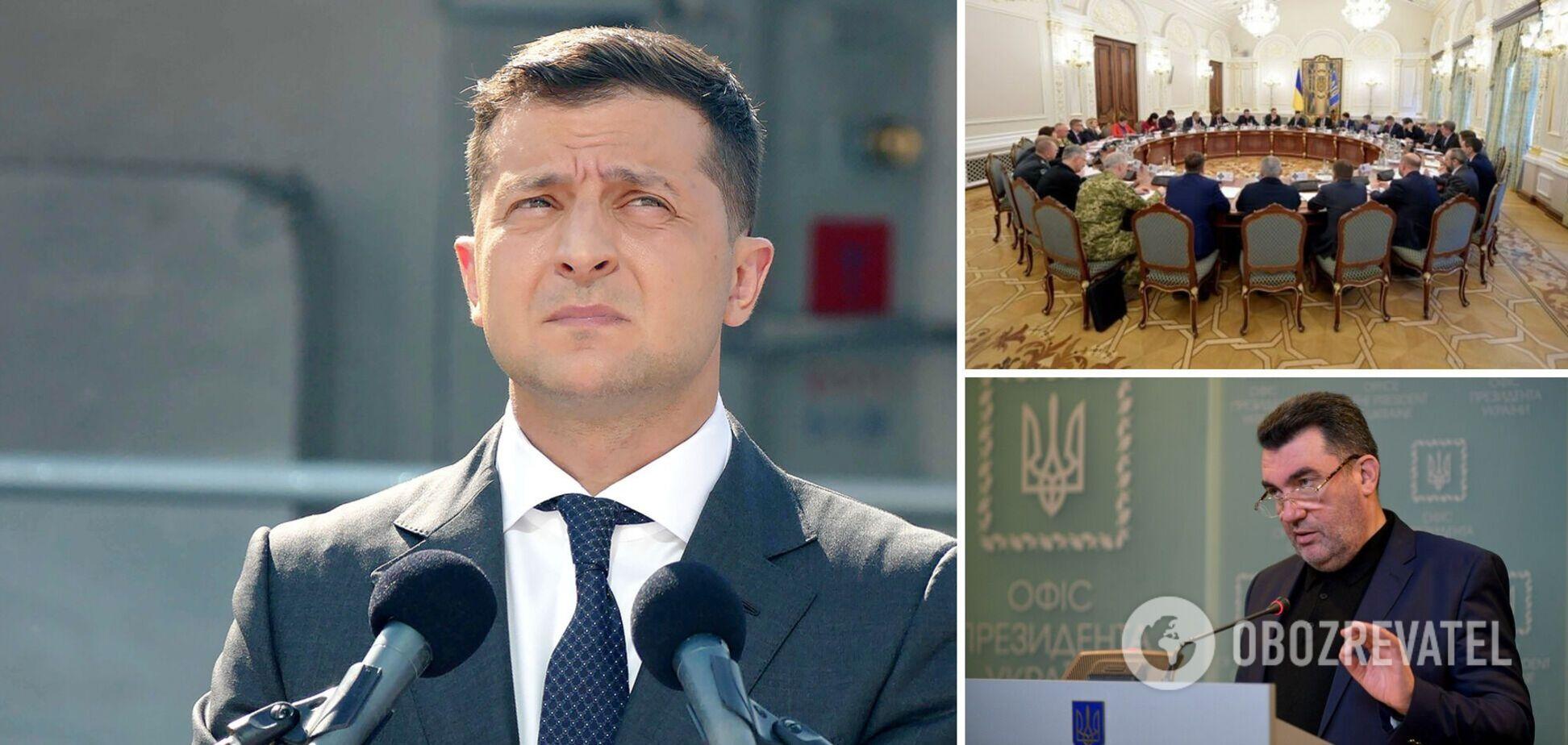 Зеленский и СНБО ввели санкции против Медведчука и его жены: Марченко собралась в политику