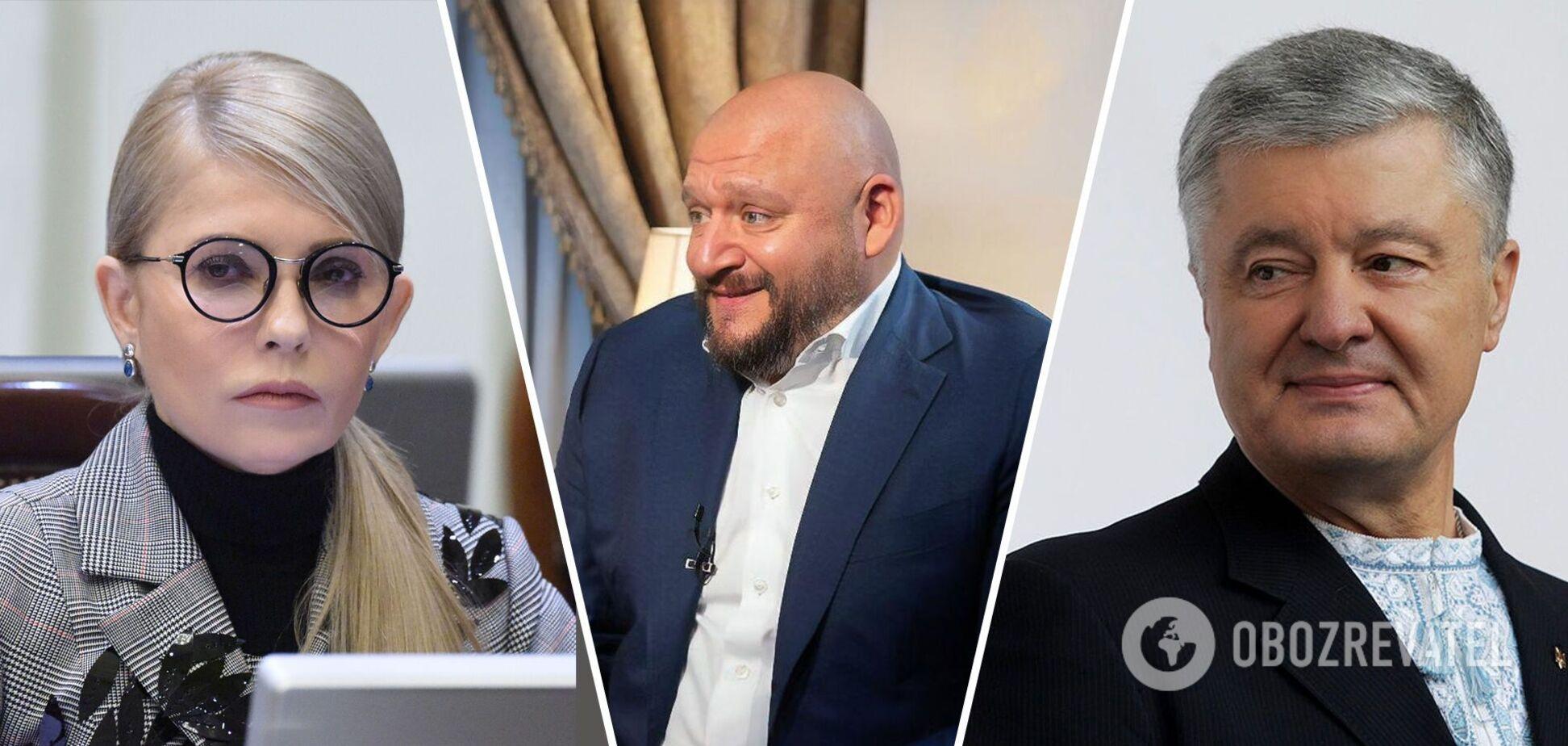 Как изменились Тимошенко, Порошенко и другие политики за последние годы: сравнительные фото