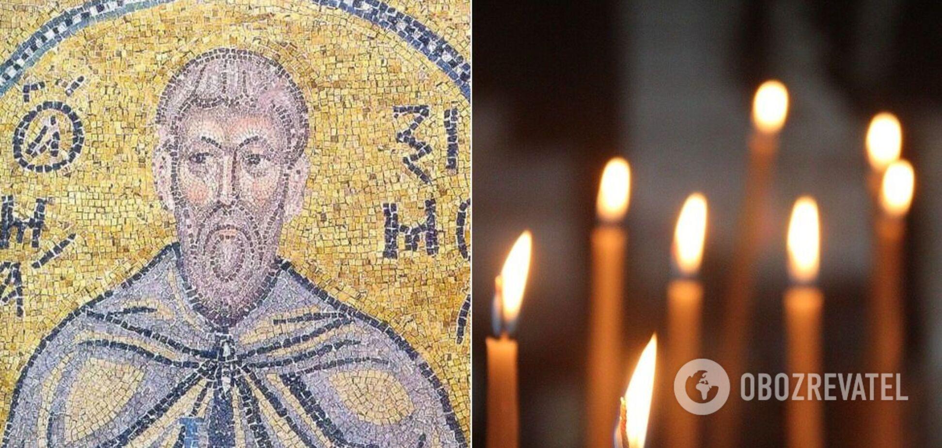 3 лютого варто помолитися святому про мир і допомогу у важкій ситуації
