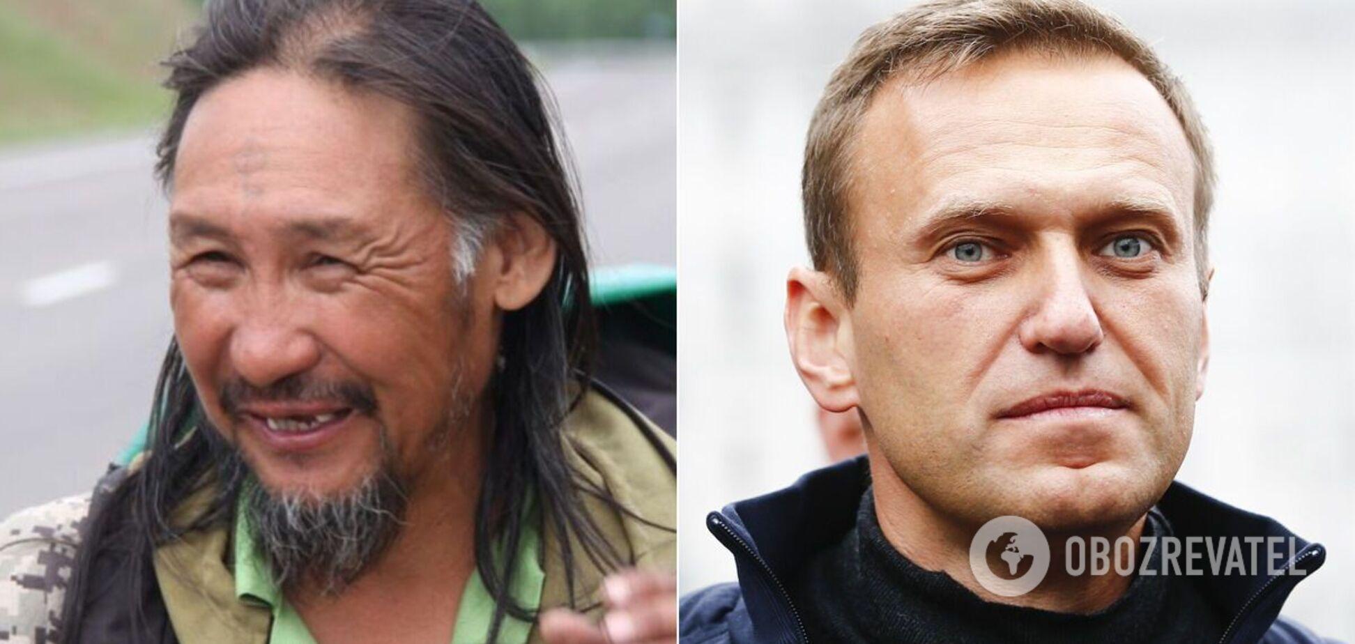 Що спільного у шамана Габишева і блогера Навального?