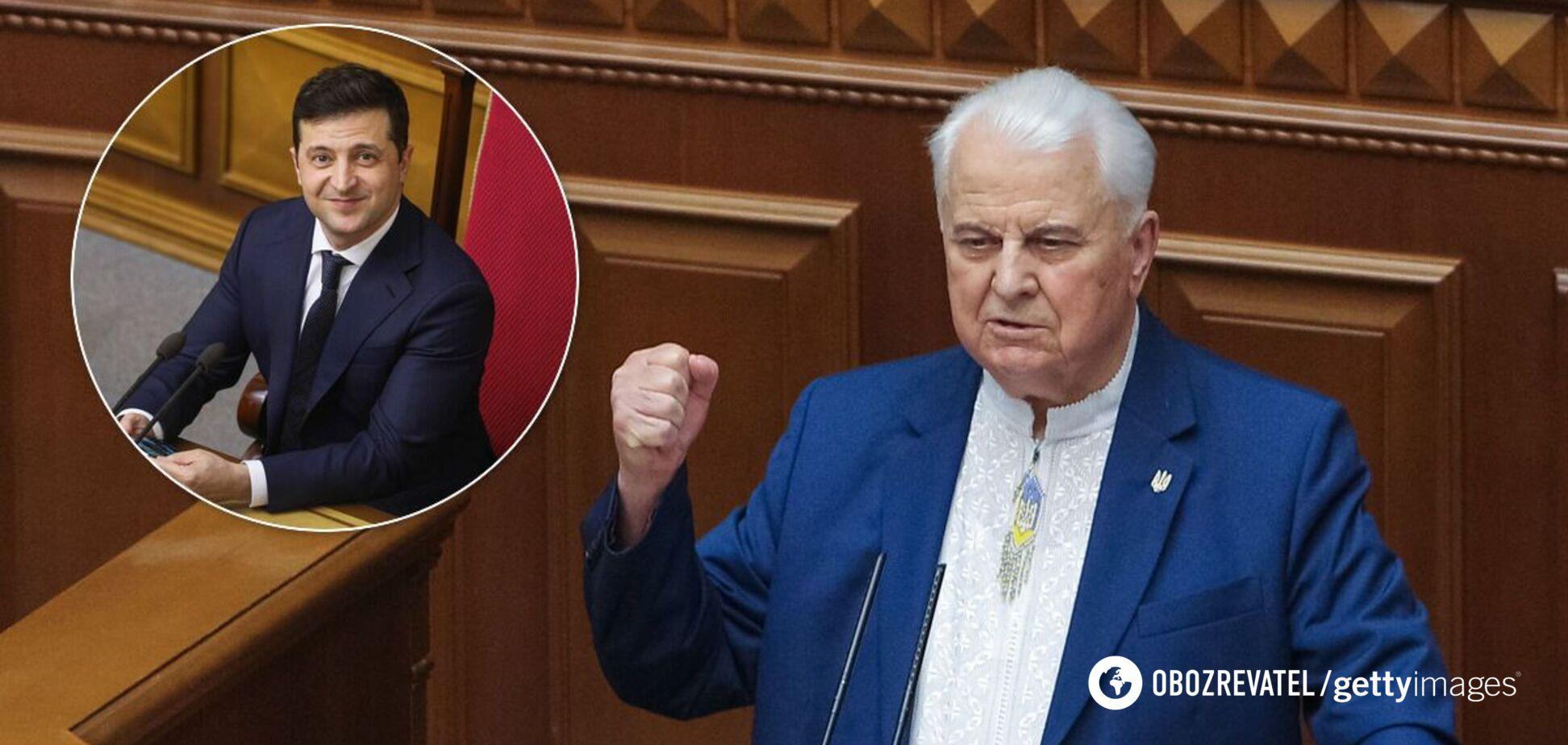 Кравчук – о словах Зеленского по Крыму: президент должен умереть за народ