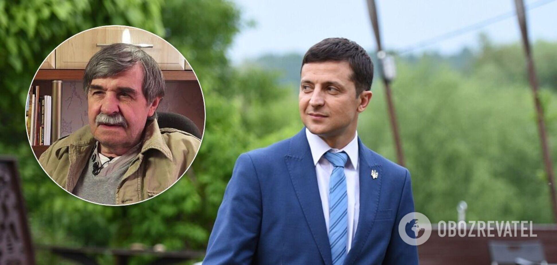 Зеленский назначил пожизненную стипендию настоящему Василию Голобородько