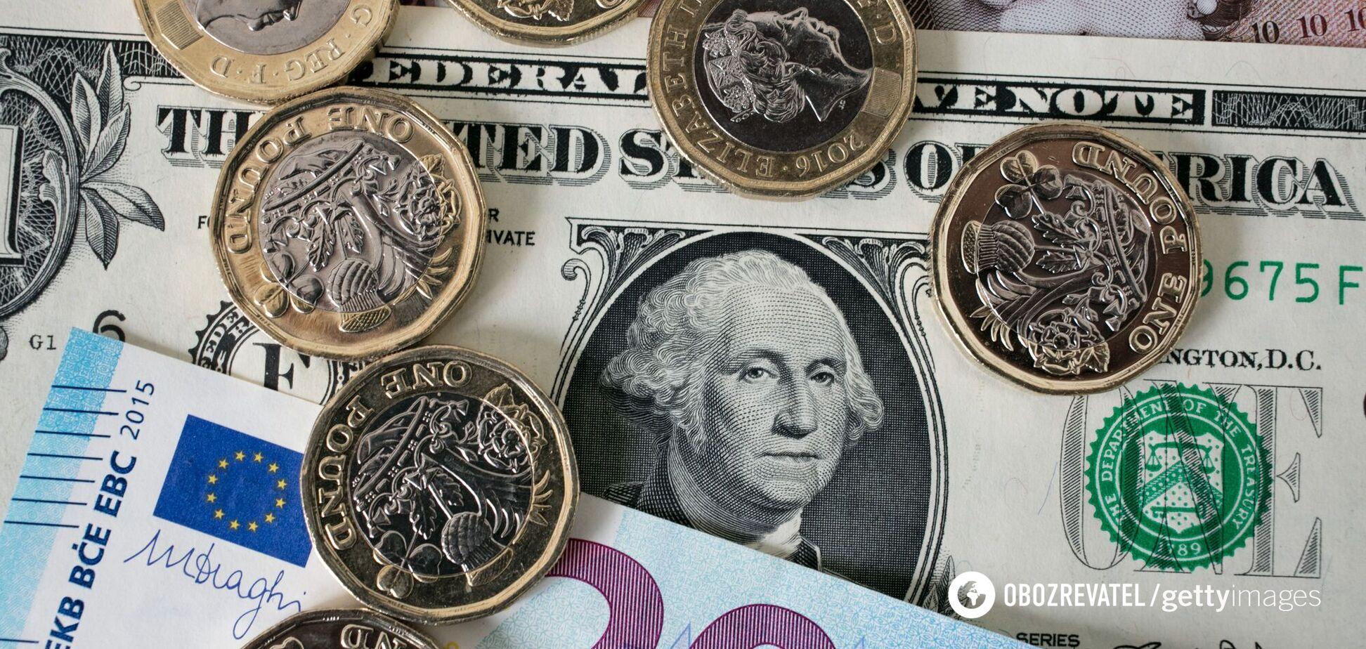 Долар подешевшав, євро підскочив: скільки коштує валюта в Україні