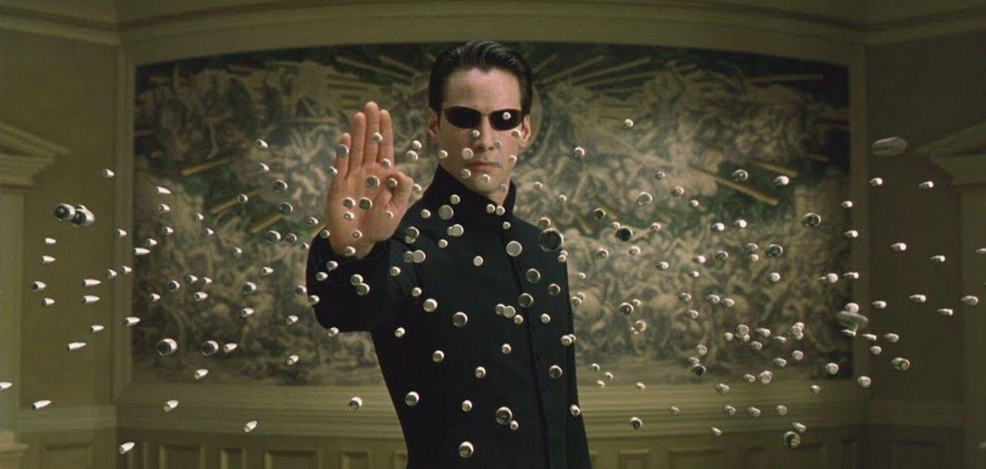Кадр з фільму 'Матриця'