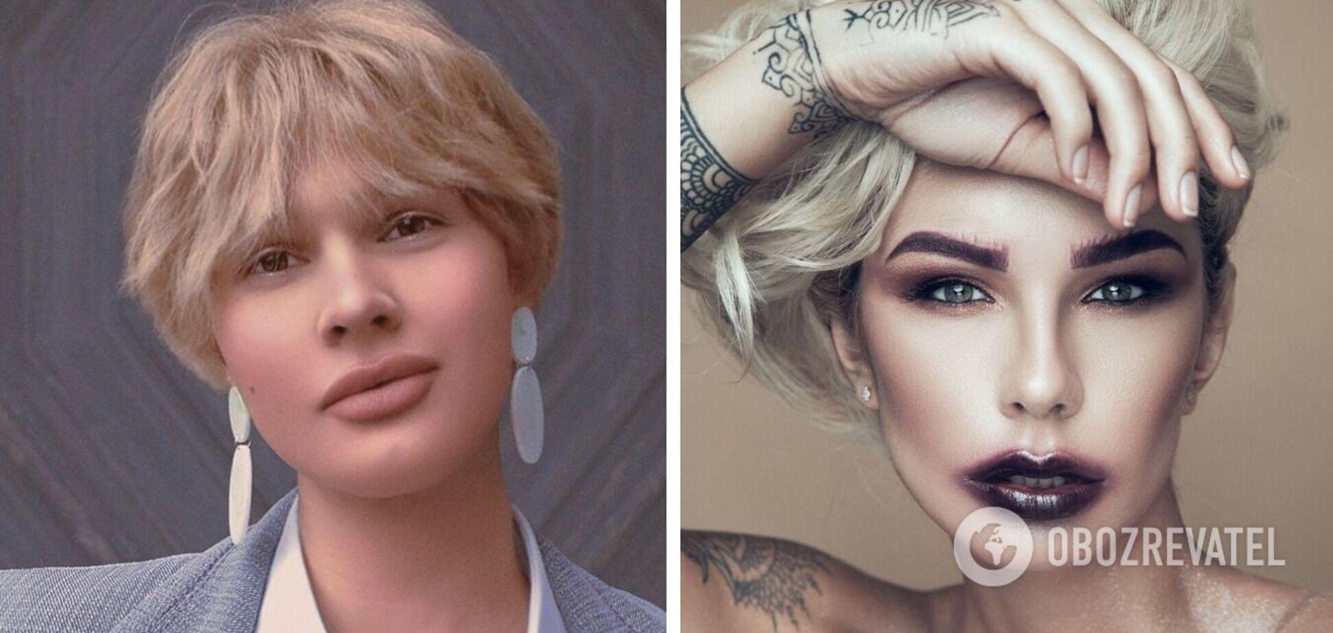 Який вигляд мають учасники популярних українських шоу, які змінили стать: фото до і після