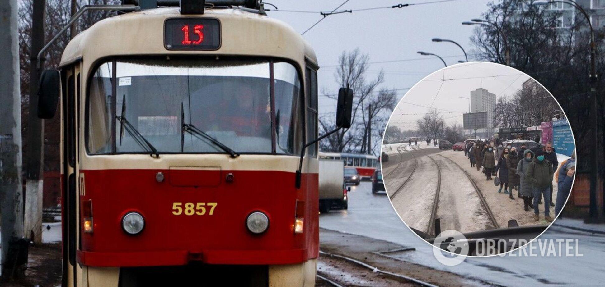 У мережі припустили, що на маршруті зменшили кількість транспорту