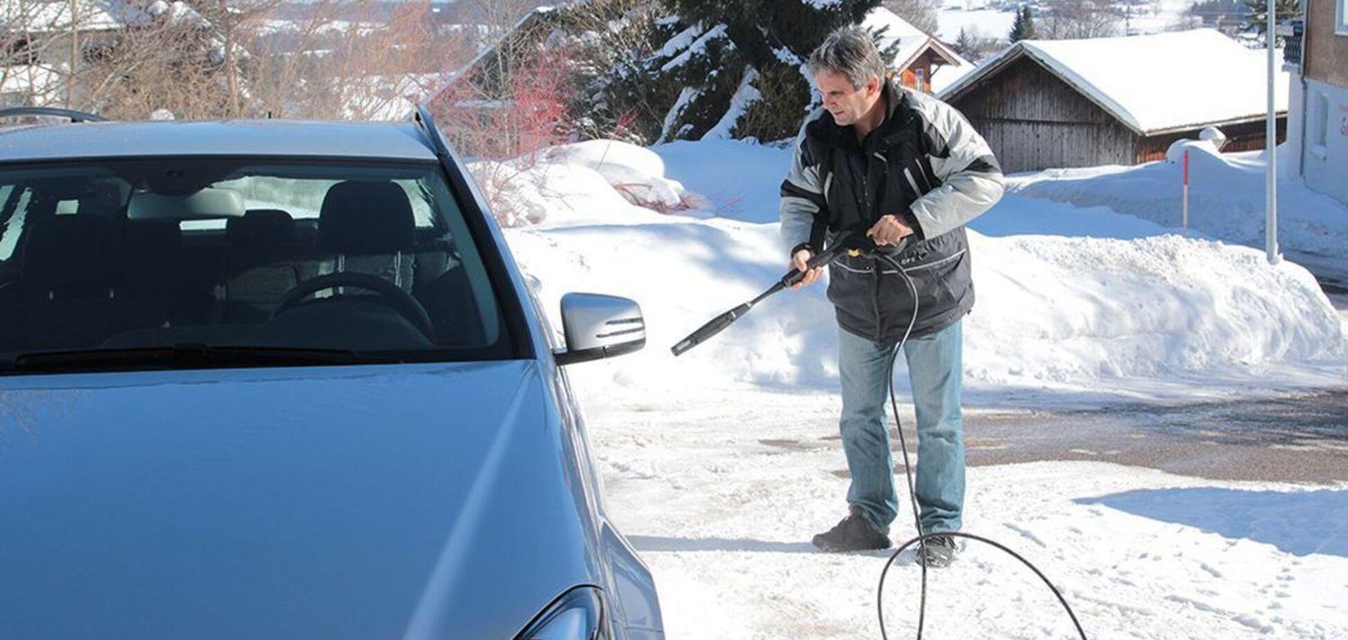 Мыть или не мыть авто в мороз – советы специалистов