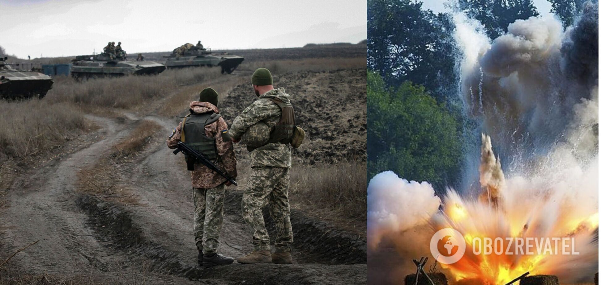 ВСУ попали под удар террористов на Донбассе: выпустили более 30 мин