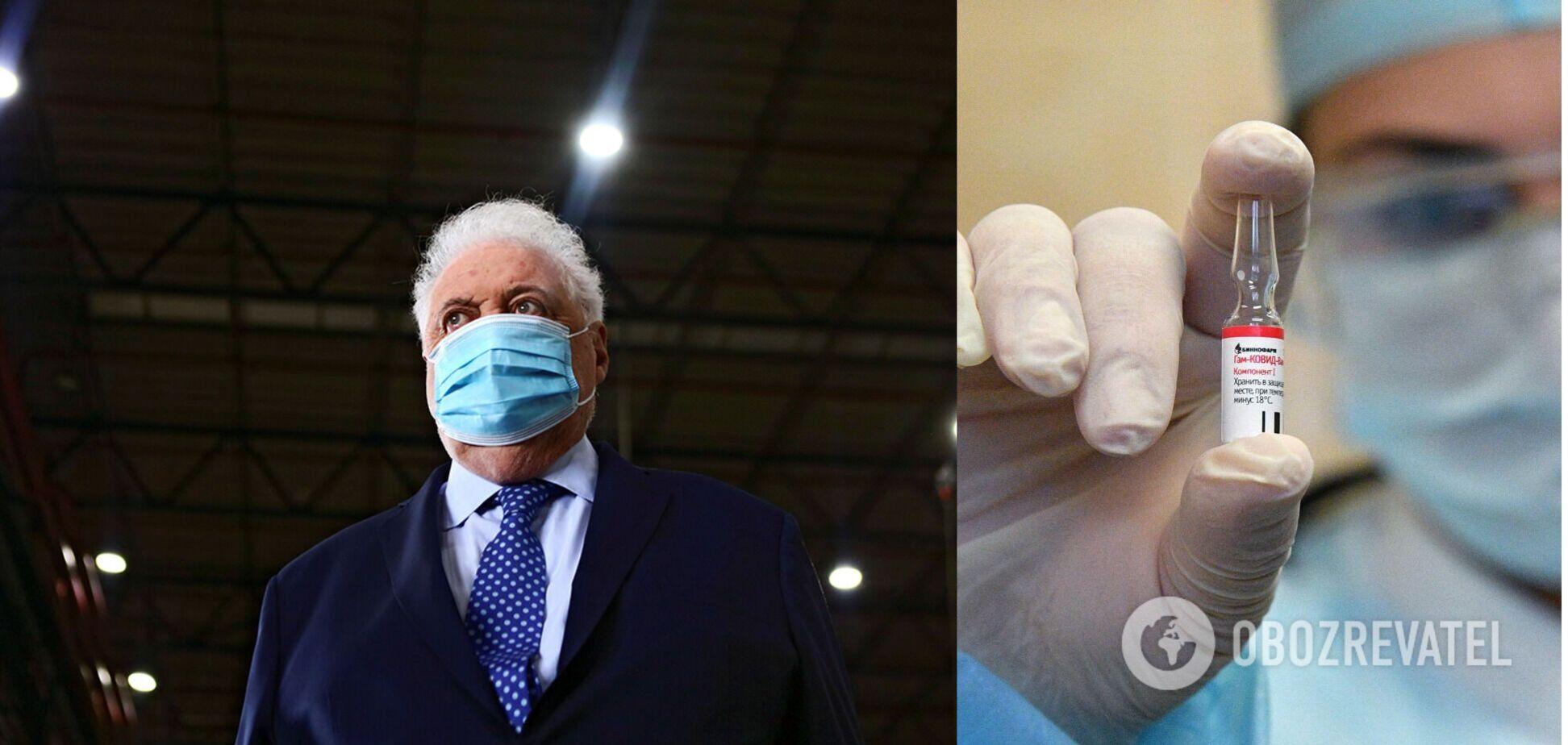 В Аргентині чиновники без черги зробили щеплення від COVID-19: глава МОЗ подав у відставку